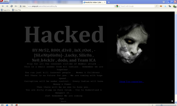 website hacking | MGIT ECE (www techbook co in)