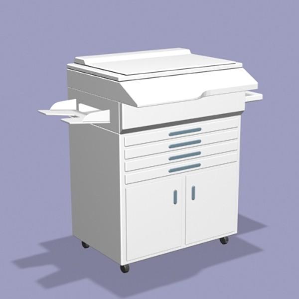 plastic copy machine